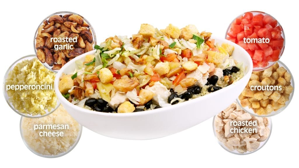 Italian Garlic Chopurrito